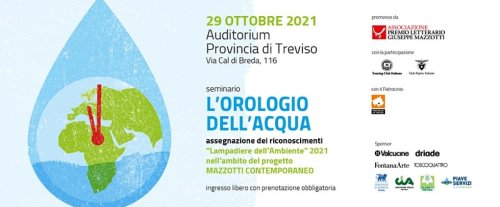 A Treviso si fa il punto sulle risorse idriche del pianeta