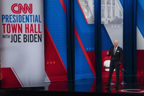 One Pic From the CNN Town Hall Says It All About Biden