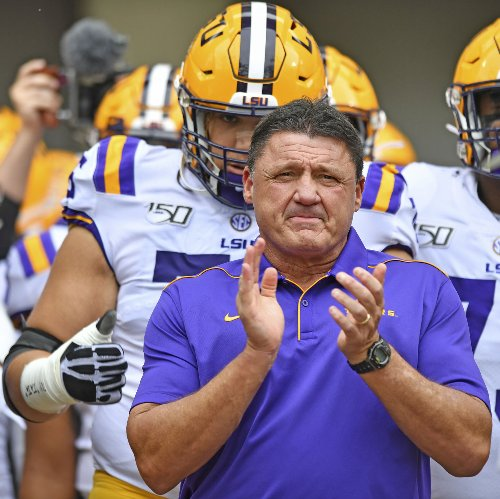 How much for Raising Cane's? See what Ed Orgeron, other NCAA coaches net from endorsements