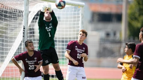 Missouri State, ranked 10th, is off to a 10-1 start in men's soccer