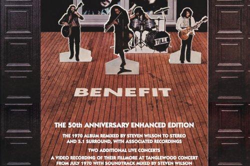 Jethro Tull Announce 'Benefit' '50th-Anniversary Enhanced Edition