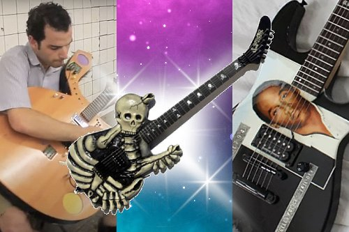13 of the Most Bizarre Guitars of All Time