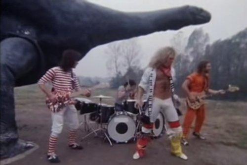 Van Halen's Lost Dinosaur Music Video Unearthed
