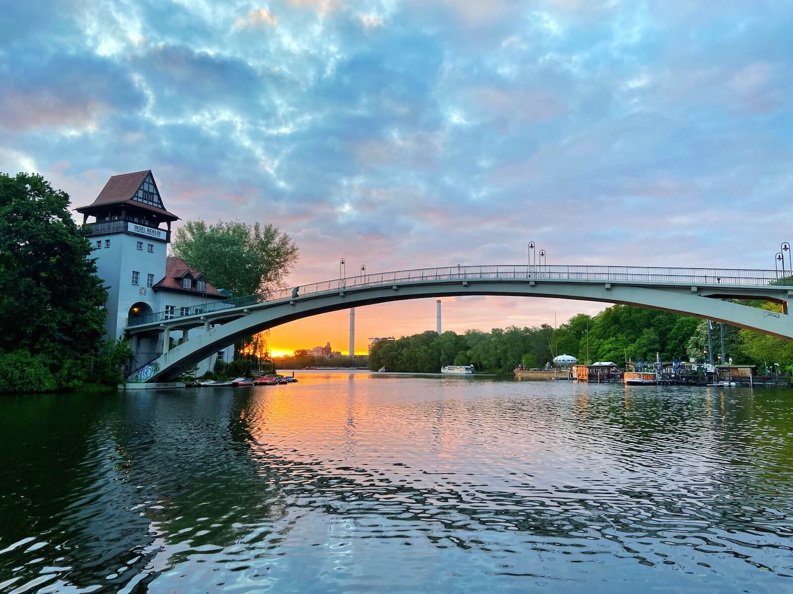 Top 10 Orte um den Sonnenaufgang in Berlin zu beobachten