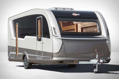 Bürstner Harmony 3 Concept Caravan is the Ultimate Hotel Room on Wheels