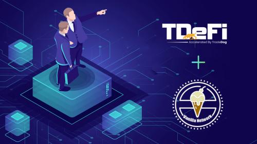 TDeFi Onboards Vanilla Network In Its Acceleration Program