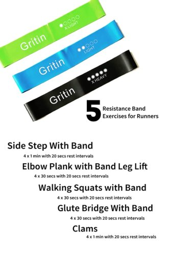 5 Simple Resistance Band Exercises for Runners