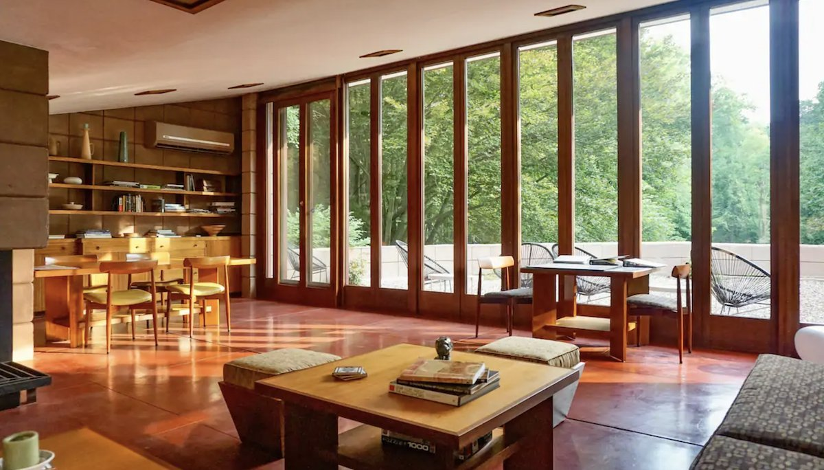 6 Frank Lloyd Wright Designs Where You Can Spend The Night