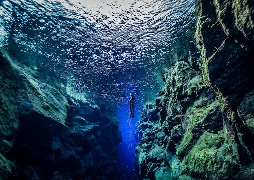 The Only Place On Earth Where Divers Can Touch Two Continents At Once