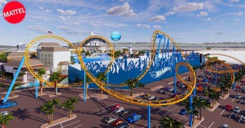 New Arizona Mattel Theme Park Includes A Hot Wheels Roller Coaster - TravelAwaits