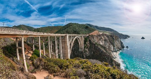 California's Beautiful Highway 1 At Big Sur To Reopen Soon