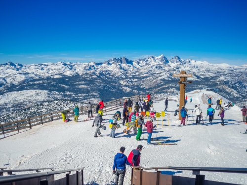 Major California Ski Resort Opening Early This Week Thanks To Snow Storm