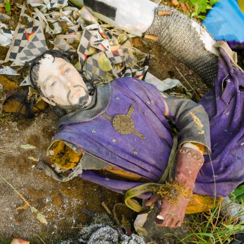 England's Abandoned Camelot Theme Park Is Now A Creepy Mannequin Graveyard - TravelAwaits