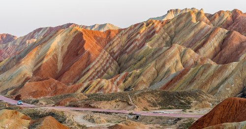 These Breathtaking Rainbow Colored Mountains Are A Fascinating Geological Wonder