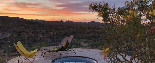 This Secluded Desert Rental In California Comes With The Most Incredible Bathtub