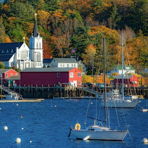Boothbay Harbor: Exit The Interstate And Make Your Way Along Highway 1