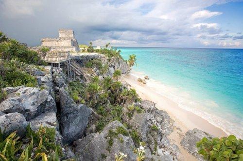 Urlauber sollen Hotels in mexikanischen Badeorten nicht verlassen