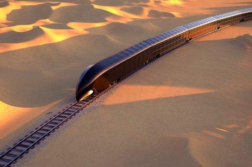 Der Luxus-Zug, der komplett aus Glas bestehen soll
