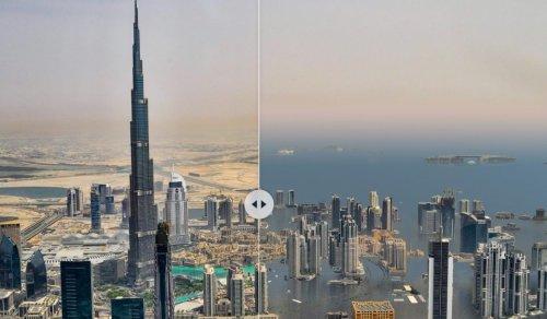 Webseite zeigt, wie Orte weltweit bei 3 Grad Klima-Erwärmung aussehen