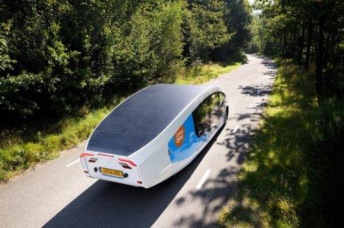 Das erste Wohnmobil der Welt mit Solarantrieb