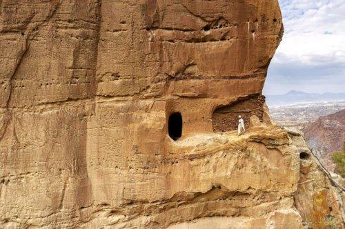 Abuna Yemata Guh: Lebensgefährlicher Aufstieg zur berühmten Kirche