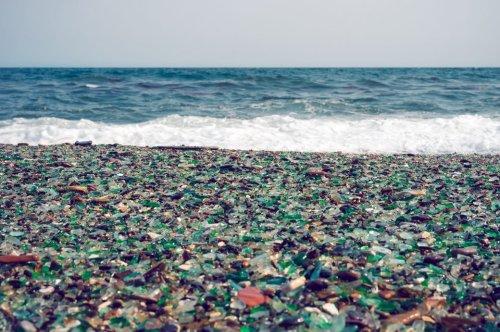 Der russische Strand, der durch Müll zur Touristenattraktion wurde