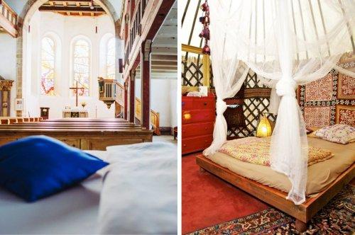 8 außergewöhnliche Ferienwohnungen in Deutschland - TRAVELBOOK