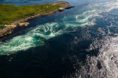 Saltstraumen – der stärkste Strudel der Welt in Norwegen