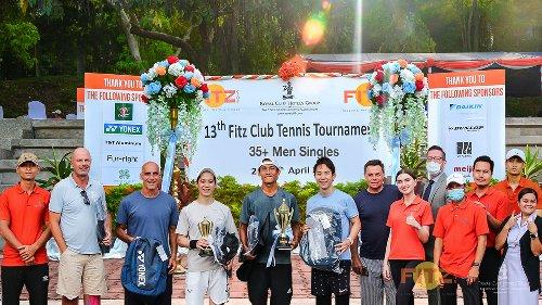One love! Fitz Club's annual tennis match a smash hit