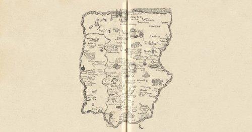 El primer mapa gastronómico de España (y una historia de amor)