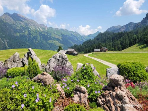 Großes Walsertal: Bilderbuchlandschaft in Vorarlberg