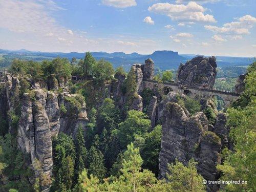 Elbsandsteingebirge: Bastei, Schwedenlöcher und Amselsee