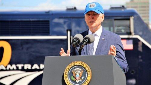 President Biden Helps Amtrak Celebrate Its 50th Anniversary