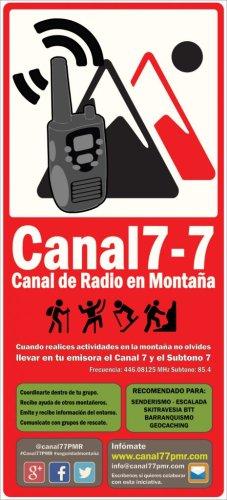 ¿Sabes qué es el Canal 7-7 o canal de Radio en Montaña?