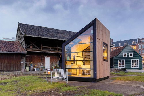 This Prefab Cabin Is a Modern Home Office and More