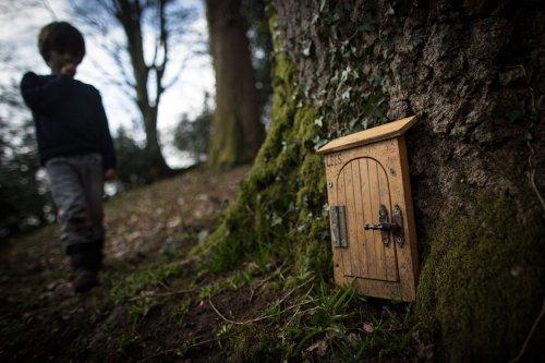 Please Don't Build Fairy Doors Along Trails