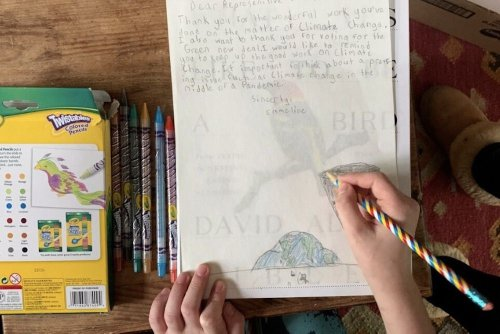 The 'Climate Art for Congress' Project Empowers Kids to Speak Up For the Planet