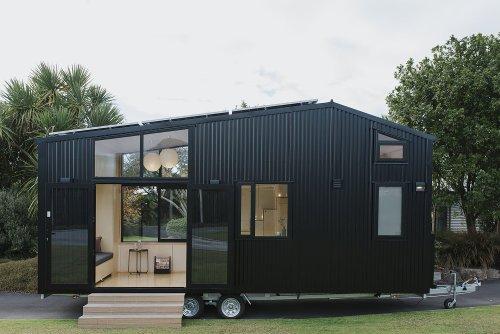 Ohariu Is a Net-Zero Tiny House Designed by Architects