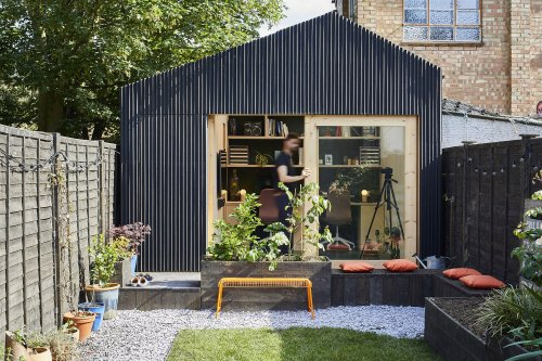 The Light Shed Is A Young Architect's Self-Built Garden Office