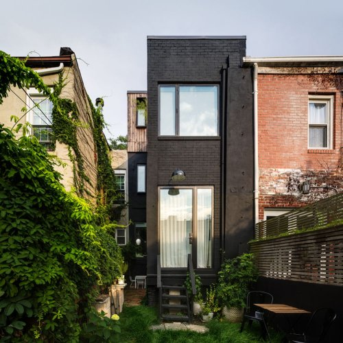 Skinny Brooklyn Rowhouse Renovation Makes Room for Family of Four