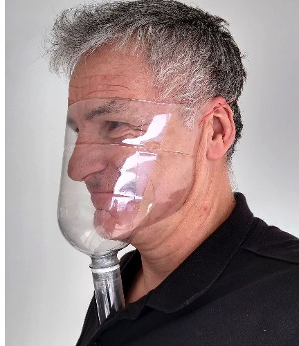 Build Your Own Face Mask and Shield From a Soda Bottle