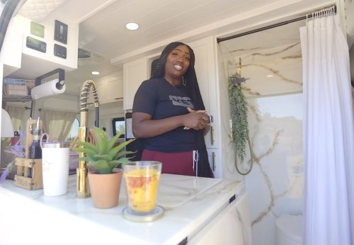 Entrepreneur Is Busting Barriers With This Luxurious Van Conversion