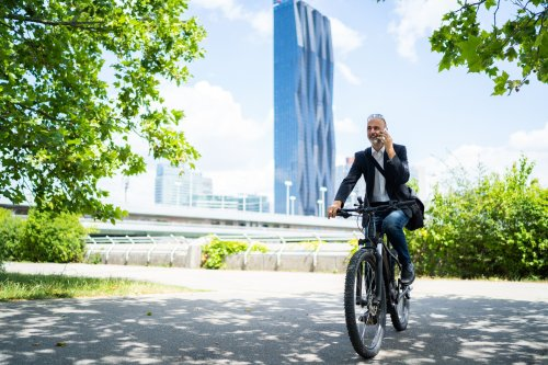 E-Bikers Ride Much Farther and More Frequently Than Regular Bikers