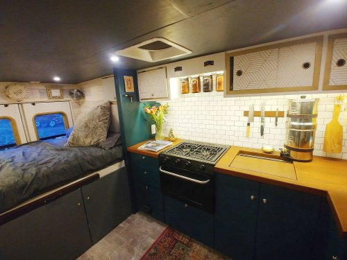 This Converted Ambulance Is Home Base for North American Baking Tour