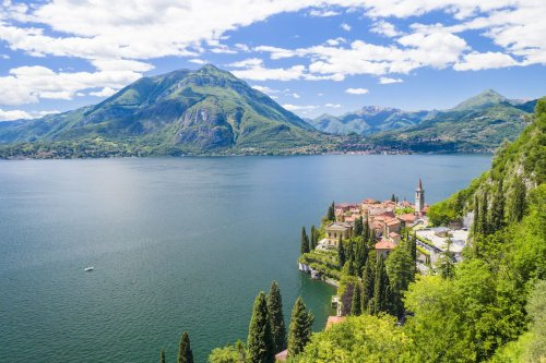Italy's Famed Lake Como Records Lowest-Ever Water Levels