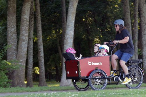 Meet More Dads Who Carry Their Families on Electric Cargo Bikes