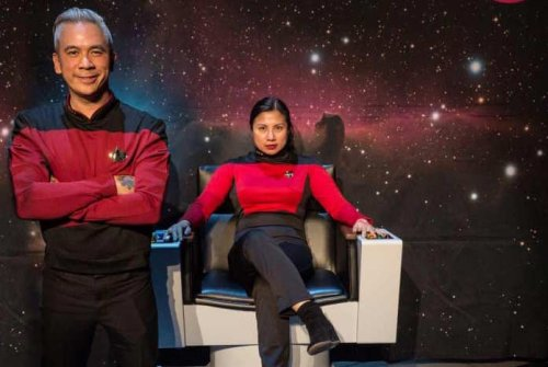 He's creating the cutting edge: Meet Star Trek super-fan Dino Ignacio