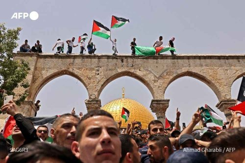 Israel attacks Al Aqsa Masjid just after the announcement of ceasefire! Here's the whole story.