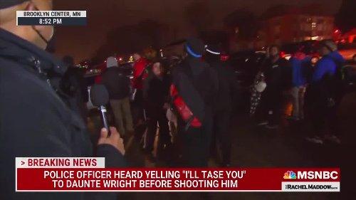 Maddow cuts reporter off when random person starts swearing on MSNBC