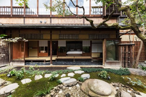 A Kyoto Spell-bounding Hotel